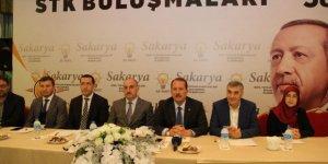 AK Parti Genel Başkan Yardımcısı Karacan STK'larla biraraya geldi