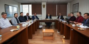 Vali Pehlivan, Özel İdare ve KÖYDES yatırımlarının son durumları hakkında brifing aldı