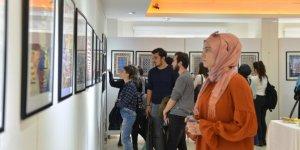 """SAÜ'de """"Halı-Kilim Ana Sanat Dalı Tasarım"""" sergisi"""