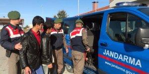 Afganistan uyruklu 7 kaçak işçi yakalandı