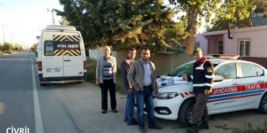 Jandarma 38 okul servisine ceza kesti