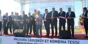 Türkiye'nin ikinci büyük et kombina tesisinin temeli atıldı