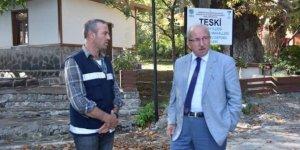 Başkan Albayrak Şarköy'de incelemelerde bulundu