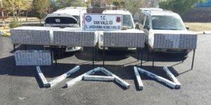 Van'da 4 bin 500 paket kaçak sigara ele geçirildi