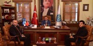 Bilecik M Tipi Kapalı ve Açık Ceza İnfaz Kurumu Müdürü Gül'den Başkan Yağcı'ya ziyaret