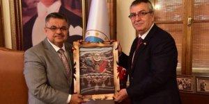 MHP İl Başkanlığı'ndan Başkan Yağcı'ya ziyaret