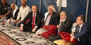 Fakıbaba'dan pamuk yığınında hayatını kaybeden çocukların ailesine ziyaret