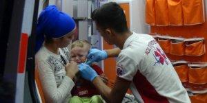 2 yaşındaki bebeğin hayatını bebek koltuğu kurtardı