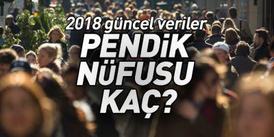 Pendik'in nüfusu kaç oldu? 2017 - 2018