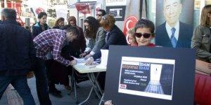 MHP'li kadınlardan çocuk istismarlarına karşı imza kampanyası