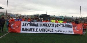 Siirt Kadınlar Futbol Takımı play-off'a çıktı