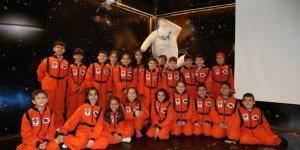 Ali Kuşçu Uzay Evi'ne öğrencilerden yoğun ilgi