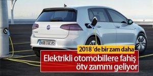 Elektrikli Otomobillere ÖTV Zammı Geliyor