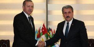 Erdoğan BBP Genel Başkanı Destici ile Görüşecek