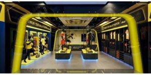 Evkur Yeni Malatyaspor'un ikinci kulüp mağazası böyle olacak