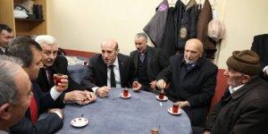 Vali Çiftçi, Demirköy'de vatandaşlarla buluştu