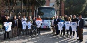 Yunusemre'den bisiklet sporcularına destek