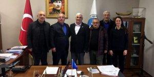 Başkan Uçar, İYİ Parti ilçe yönetimini ağırladı