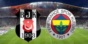 Beşiktaş Bjk Fenerbahçe Fb maçı canlı izle!