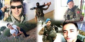 Afrin'de Şehit Olan 8 Askerin İsimleri Belli Oldu