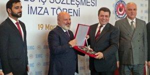 BMC - Türk Metal Sendikası toplu iş sözleşmesi imza töreni yapıldı