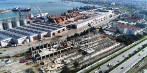 Yeni müze inşaatı hızla yükseliyor