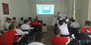 TFF'nin Malatya'da düzenlediği antrenör kursu devam ediyor