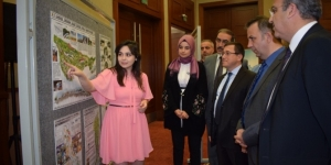 Malatya'da peyzaj tasarım projesi sergisi açıldı