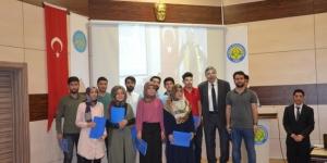 HRÜ öğrencilerine sertifikalı ilk yardım eğitimi verildi
