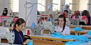 Bismil'de giyim kursunu bitiren kadınların işi hazır