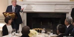Trump Beyaz Saray'da iftar yemeği verdi