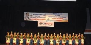Halk Oyunları Gençler Türkiye Şampiyonası sona erdi