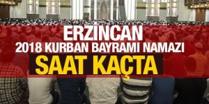 2018 Erzincan kurban bayramı namazı saati kaçta? İşte bayram namazı saatleri
