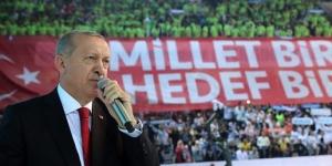 Erdoğan  AK Parti 6. Olağan Kongresi'nde konuşuyor