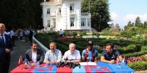 Trabzonspor'un yeni transferi Nwekaeme sözleşmeye imza attı