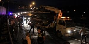 TEM'de 9 araç birbirine girdi! 6 kişi yaralı