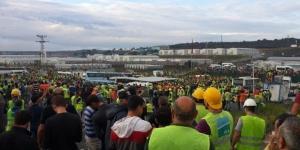 Yeni Havalimanı olayında 24 kişi tutuklandı