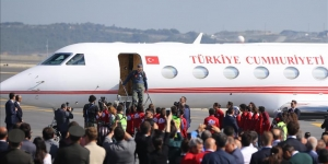 Başkan Erdoğan pilot kıyafetiyle Teknofest'te