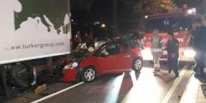 Pendik'te kaza! 1 ölü, 2 yaralı