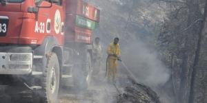 Hatay'da orman yangını sürüyor