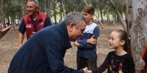Başkan Kayalı belediye personeliyle piknikte buluştu