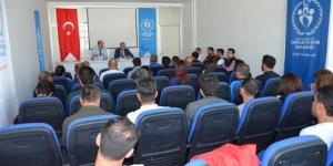 Antrenörlerle Spor Koordinasyon ve Değerlendirme Kurulu toplantısı yapıldı