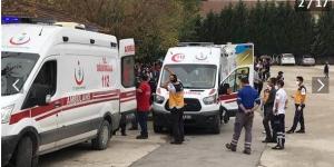 Sakarya'da büyük panik! Öğrenciler tahliye edildi