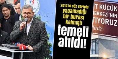 Üsküdar Belediye Başkanı Hilmi Türkmen 2014'teki son seçim vaadini yerine getirdi!