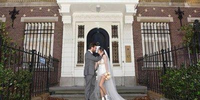 Burcu Kıratlı ve Sİnan Akçıl'ın nikahının ardından gelen en özel kareler!