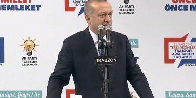 Erdoğan Ak Parti Trabzon Adaylarını açıkladı