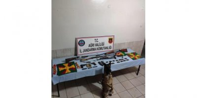 Merkez Haberleri: Ağrıda PKKKCK operasyonunda silah ve mühimmat ele geçti 5