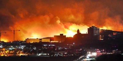 Güney Kore'de yangın felaketi!