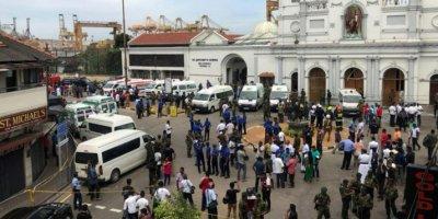 Dünya şokta: Sri Lanka'da peşpeşe patlamalar meydana geldi