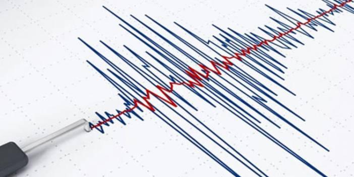 3.7 büyüklüğünde deprem meydana geldi